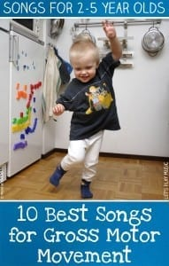 Gross Motor Movement Songs for Kids