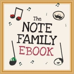 The Note family ebook landing page image