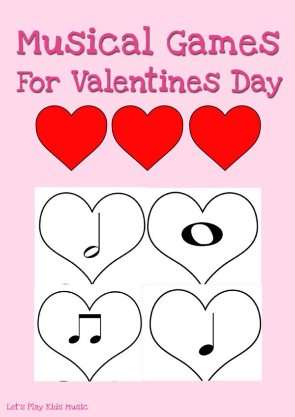 Musical Games for valentines day