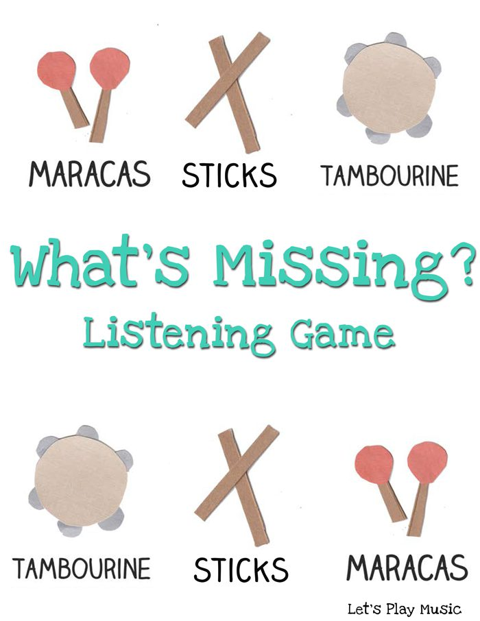 What's Missing Listening game