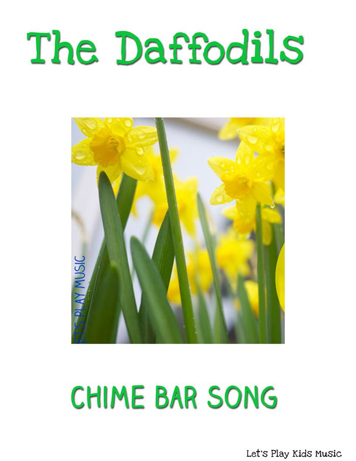 The daffodils chime bar song