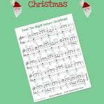 Night Before Christmas Easy Piano